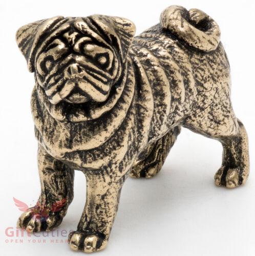 Bronze Figurine of Pug dog