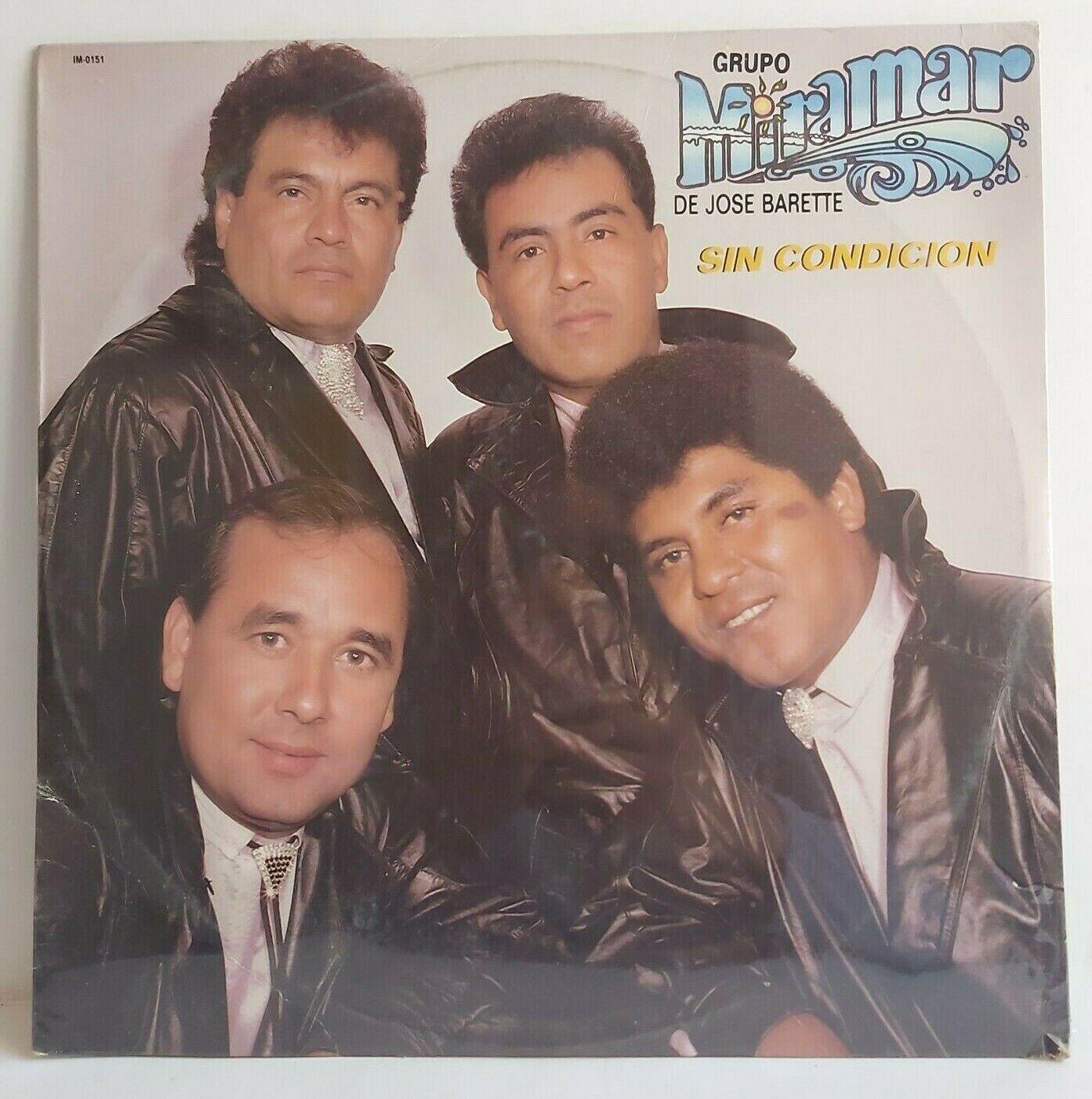 GRUPO MIRAMAR DE JOSE BARETTE Sin Condicion Falsa IM DISCOS LP NEW SEALED - $11.77