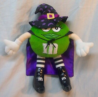 M&M's GREEN M&M CHARACTER DRESSED AS HALLOWEEN WITCH 10