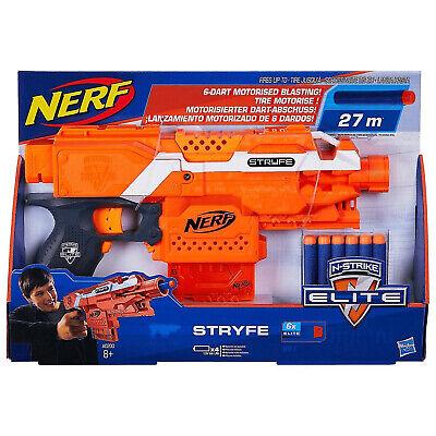 MODDED NERF Stryfe N-Strike Elite Neo-Rhino Daybreak Li-Po blaster 170 FPS - NEW