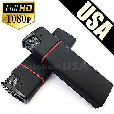 Full HD 1080p Mini DV Lighter Hidden Spy Cam Camera Nanny DVR USB Video Recorder