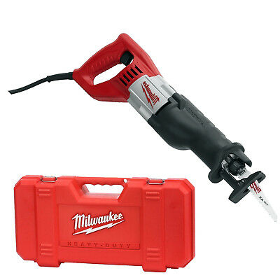 Milwaukee 6519 31 Sawzall Recip 1 1 8  Stroke 12 Amp  0 3 000 Spm Kit New