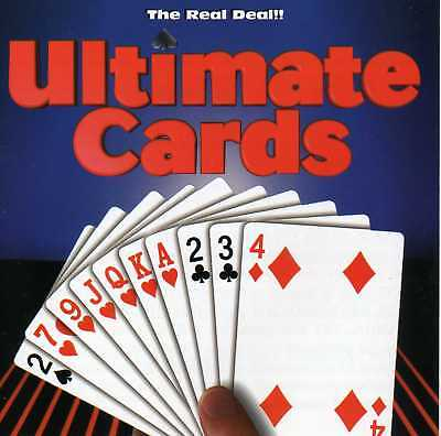 Ultimate Cards, The Real Deal (PC-Dos, CD-Rom, Jewel Case) BRAND NEW for sale  Shipping to India