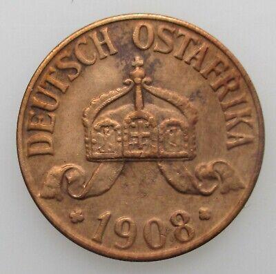 Deutsch Ostafrika 1 Heller 1908