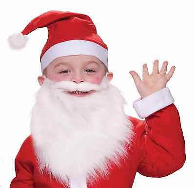 Child Santa Beard and Moustache Christmas Halloween Costume Accessory