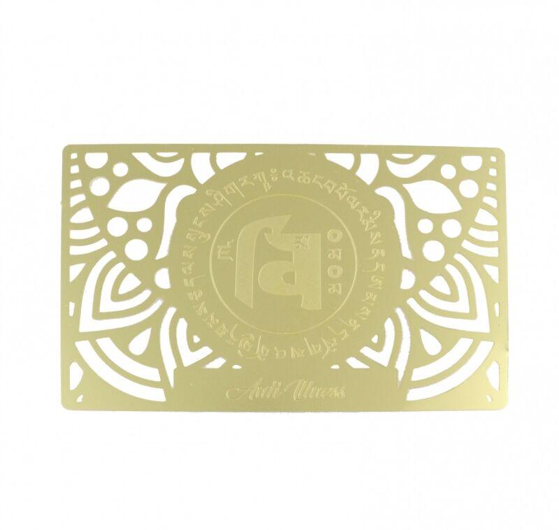 Feng Shui Anti-Illness Amulet Card