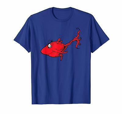Dr. Seuss Red Fish T-Shirt Clothing US Trend 2020 Best Tee Gifts Size (Best Fishing T Shirts)