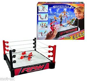 double attack wrestling ring
