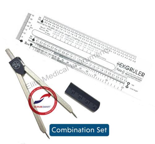 EMI Basix Economy EKG Caliper and EKG Ruler - EKR-203