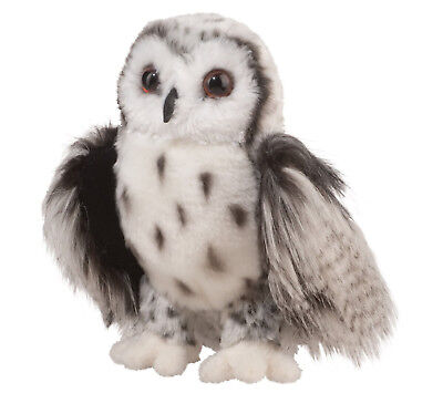 Crescent Silver Owl 9 by Douglas Cuddle Toys