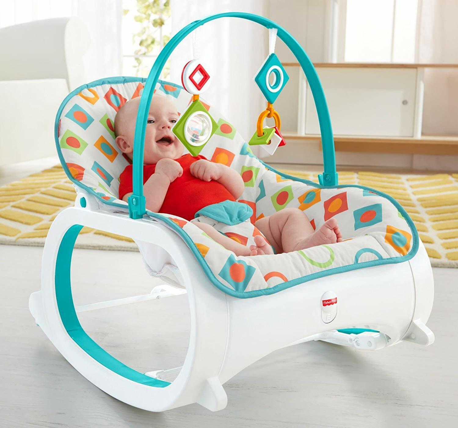 Geo Diamonds Fisher-Price Infant-to-Toddler Rocker