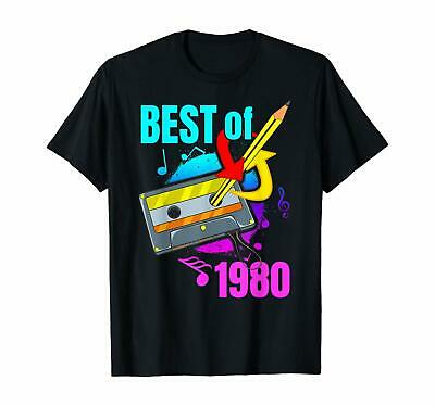 40Th Birthday Best Of 1980 Retro 80S 40 Year Old Gift