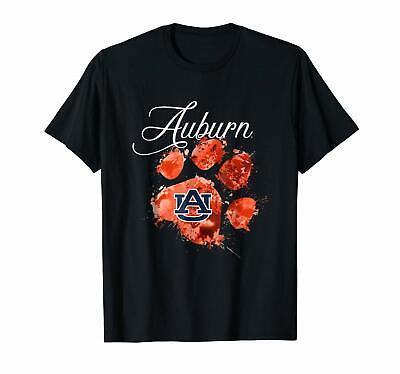 Auburn Tigers Color Drop Paw T-shirts Tee size M-3XL US 100% cotton trend 2020