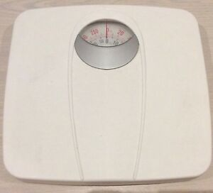 Mechanical Manual bathroom scale white Melbourne CBD Melbourne City Preview