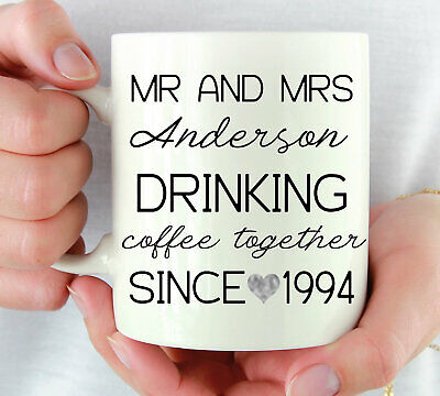 Personalized 25th Wedding Anniversary Gift For Couple 25 Year Anniversary Gift ()