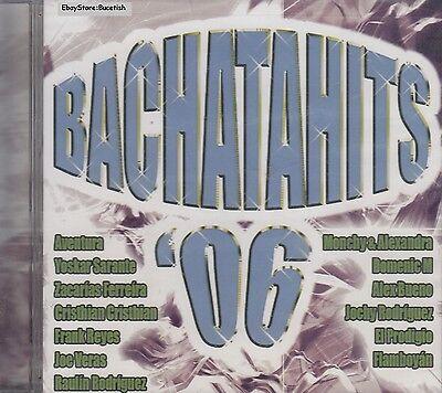 Aventura Yoskar Sarante Frank Reyes Alex Bueno Bachatahits 06 CD Sealed