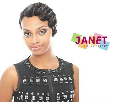 Finger Wave Wig (MOMMY 2 (TWO) - 100% Remy Human Hair Wig - Finger Wave Style - Janet)