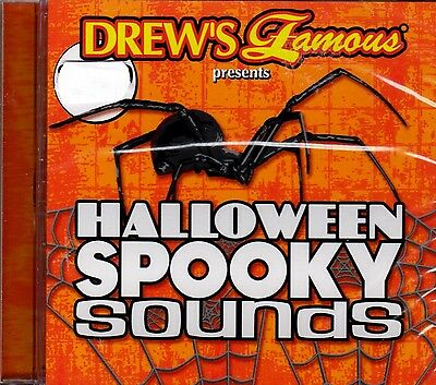 Drew's Famous HALLOWEEN SPOOKY SOUNDS 63 SCARY SOUND EFFECTS TO HAUNT YOUR HOUSE