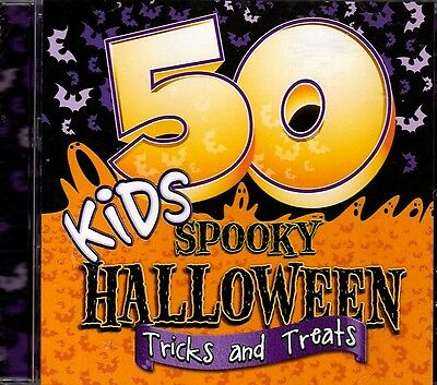 Spooky Halloween Stories Cd (50 KIDS SPOOKY HALLOWEEN TRICKS & TREATS SCARY SONGS, STORIES & SOUNDS CD)