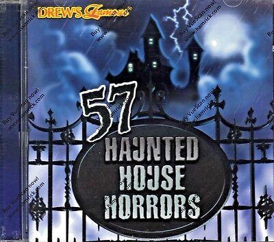 Halloween-sounds, Horror Musik (57 HAUNTED HOUSE HORRORS FRIGHTENING ORIGINAL SOUND EFFECTS HALLOWEEN SOUNDS OOP)