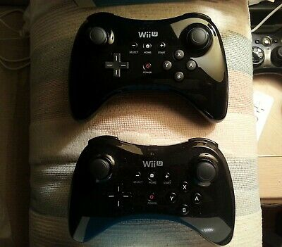Official Nintendo Wii U Pro Controller Gamepad Black TESTED BEST DEAL ON EBAY! ✅