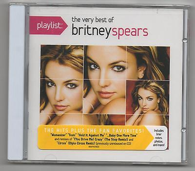Britney Spears The Very Best of Britney Spears 2012 CD Toxic, Baby One More