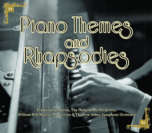 CD PIANO THEMES & RHAPSODIES SEMPRINI MELACHRINO ORCHESTRA WARSAW OLWEN TANGO