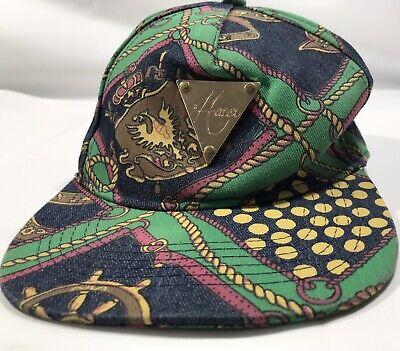 Hater Snapback Hat Triangle Badge Nautical Design