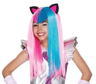 Rubie's 36436 Catty Noir Monster High Kinderperücke Karneval - Rubies Kostüm Kinder Perücke
