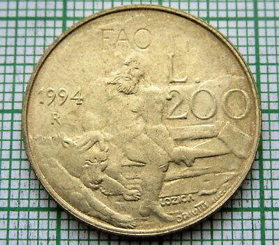 GEORGIA 5 COINS SET 1993 ANIMALS XF-UNC #1424