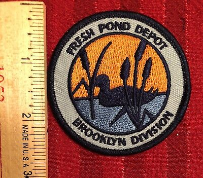 NYCT Fresh Pond Depot Patch.