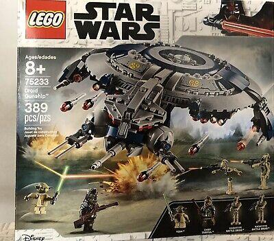 LEGO Star Wars 75233 Droid Gunship Set New / Factory Sealed Kashyyyk Droid Yoda
