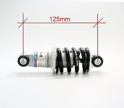 ✔️ Задний амортизатор для велосипеда DNM DV-6V Rear Shock 750 lbs - 125 x 24mm ? купить