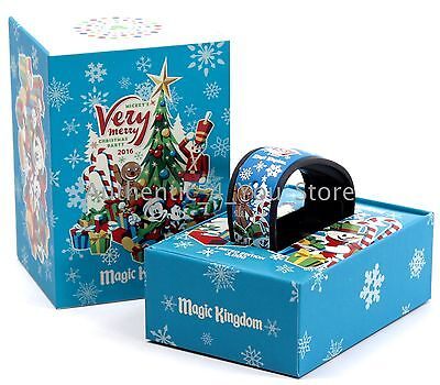NEW Disney 2016 Mickey's Very Merry Christmas Party MagicBand MVMCP Magic (Mickeys Very Merry Christmas Party Magic Band)