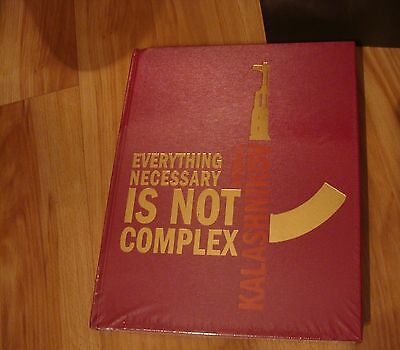 "// RARE GIFT Book Mikhail Kalashnikov ""Everything Necessary Is Not Complex"