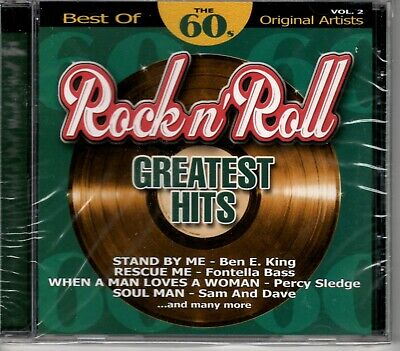 Rock And Roll Greatest Hits - Best Of The 60's - Vol 2 - CD - Brand