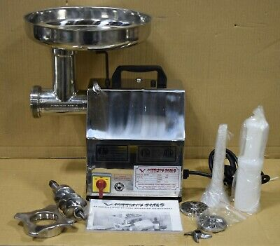 Refurb American Eagle Ae-g12ss 12 1hp Stainless Steel Commercial Meat Grinder