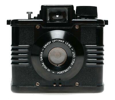 Ilford Envoy Bakelite 6x9 120 Film Box Camera Optimax Lens