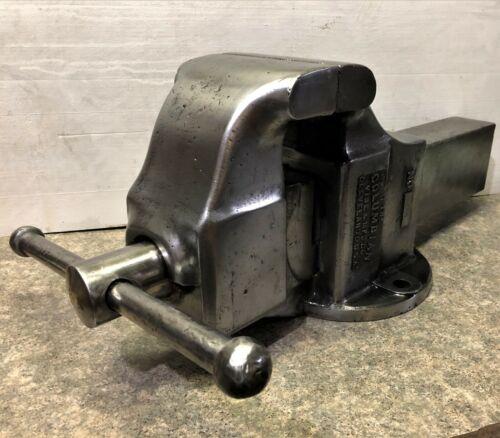 Vintage Large Columbian No. 506 Bench Vise Machinist Blacksmith USA Vice Tool