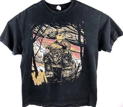 Vintage Korn Graphic T Shirt Men Size XL Heavy Metal Rare 90's Band Merch