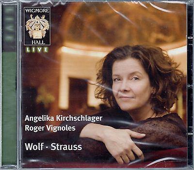 ANGELIKA KIRCHSCHLAGER - ROGER VIGNOLES : WOLF - STRAUSS / CD - NEU
