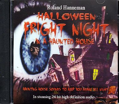 HALLOWEEN FRIGHT NIGHT IN A HAUNTED HOUSE SOUND EFFECTS IN 24 HI DEF AUDIO! NEW! (Audio Halloween Stories)