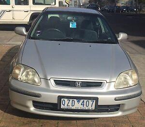 1998 Honda Civic Hatchback Richmond Yarra Area Preview