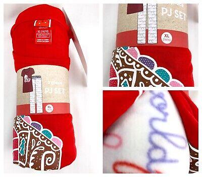 Girls Pajamas Size 14 16  PJs Kids Christmas Target PJ Set Preteen Clothes](Girls Size 14 Christmas Pajamas)