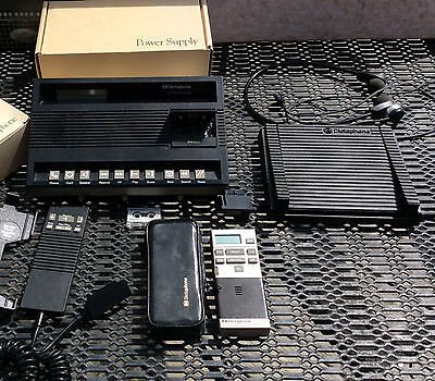 Dictaphone ExecMaster voice processor w microphone 4350 portable recorder 4250