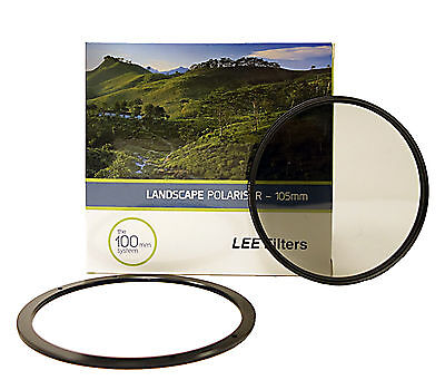 Lee Filters 105mm Landscape Cir-Polariser + Lee 105mm Front Ring.Brand New