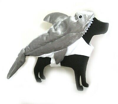Shark Pet Costume Cute Funny Fish Dog Halloween - Cute Pet Kostüme Halloween