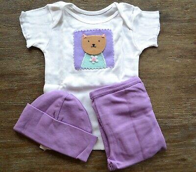 Best of Chums 3-Piece Baby Gift Set in Linen Bag - Cat,