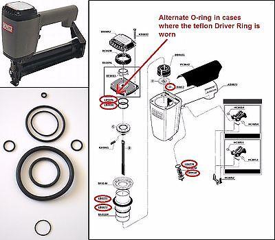 Senco SKS Stapler O ring Kit