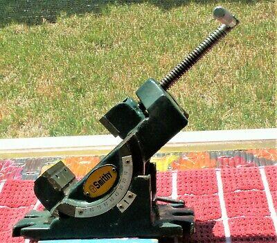 Machinist 3inch Smithy Tilting Vise90 Degree Angledrill Pressmilling Machine